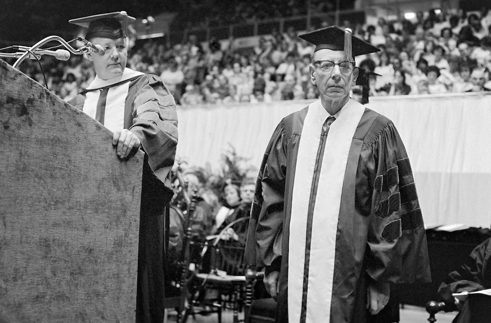 1974 Commencement Paul Stocker.. Honorary doctorate