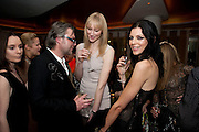 JADE PARFITT; LIBERTY ROSS;  VOGUE.COM'S 15TH BIRTHDAY. W Hotel, Leicester Sq. London. 17 February 2011. -DO NOT ARCHIVE-© Copyright Photograph by Dafydd Jones. 248 Clapham Rd. London SW9 0PZ. Tel 0207 820 0771. www.dafjones.com.