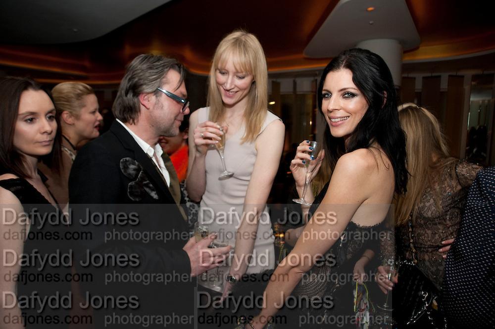 JADE PARFITT; LIBERTY ROSS;  VOGUE.COM'S 15TH BIRTHDAY. W Hotel, Leicester Sq. London. 17 February 2011. -DO NOT ARCHIVE-© Copyright Photograph by Dafydd Jones. 248 Clapham Rd. London SW9 0PZ. Tel 0207 820 0771. www.dafjones.com.