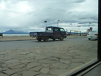 Black Flag Protesters Patrol the streets of Puerto Natales