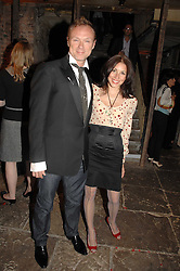 GARY KEMP and his wife LAUREN BARBER at the Stephen Webster launch party of his latest jewellery collection during the London Jewellery Week, at Wilton's Music Hall, Graces Alley, Off Ensign Street, London E1 on 12th June 2008.<br />