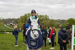 Van Dijck Louise, BEL, Gasmann 'B' van het Juxschot<br /> Nationale finale AVEVE Eventing Cup voor Pony's - Maarkedal 2019<br /> © Hippo Foto - Dirk Caremans<br /> 27/04/2019