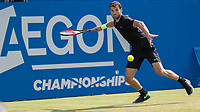 Tennis - 2017 Aegon Championships [Queen's Club Championship] - Day Three, Wednesday<br /> <br /> Men's Singles, Round of 16 - Grigor Dimitrov (BUL) vs Julien Benneteau (FRA)<br /> <br /> Grigor Dimitrov (BUL) at Queens Club<br /> <br /> COLORSPORT/DANIEL BEARHAM