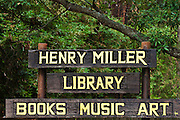 The Henry Miller Library, Big Sur, California