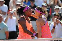 Serena WILLIAMS / Lucie SAFAROVA  - 06.06.2015 - Jour 14 - Finale Femmes - Roland Garros 2015<br />Photo : Nolwenn Le Gouic / Icon Sport