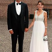 NLD/Apeldoorn/20070901 - Viering 40ste verjaardag Prins Willem Alexander, aankomst Prinses Letizia and prins Felipe van Spanje