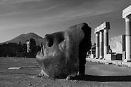 Igor Mitoraj in Pompeii