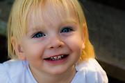 Happy 21 month old girl, Brisbane, Queensland, Australia