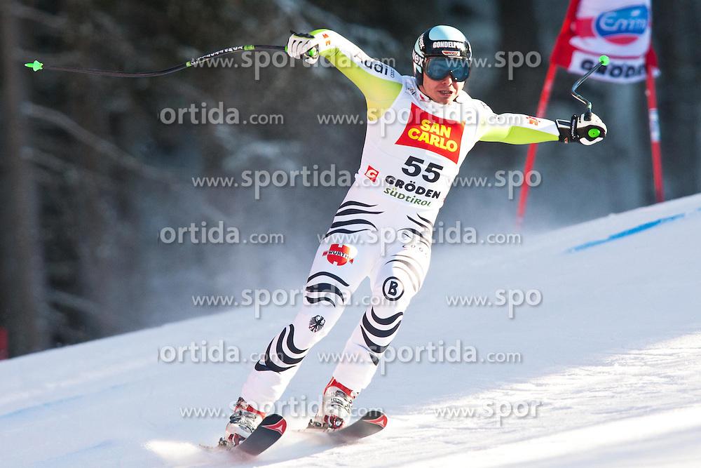 18.12.2010, Saslong, Groeden, ITA, FIS World Cup Ski Alpin, Men, Downhill, im Bild Andreas Sander (GER, #55). EXPA Pictures © 2010, PhotoCredit: EXPA/ J. Groder