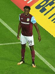 Keinan Davies of Aston Villa - Mandatory by-line: Paul Roberts/JMP - 12/09/2017 - FOOTBALL - Villa Park - Birmingham, England - Aston Villa v Middlesbrough - Skybet Championship