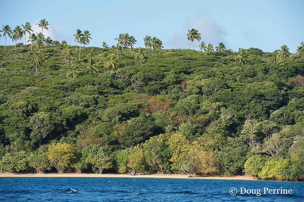 Fofoa Island, Hunga Lagoon, Vava'u, Kingdom of Tonga, South Pacific