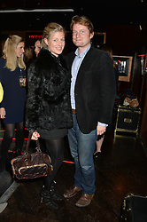 HARRY ROPER-CURZON and PHILIPPA HOLLAND at a party in aid of the Youth at Risk charity held at Raffles, 287 King's Road, London on 27th November 2013.