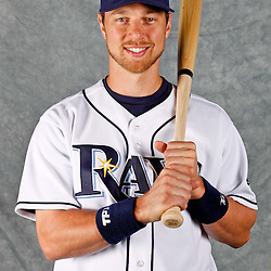 February 29, 2012; Port Charlotte, FL, USA; Tampa Bay Rays second baseman Ben Zobrist (18) poses for a portrait during photo day at Charlotte Sports Park.  Mandatory Credit: Derick E. Hingle-US PRESSWIRE
