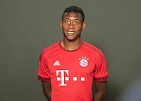 German Soccer Bundesliga 2015/16 - Photocall of FC Bayern Munich on 16 July 2015 in Munich, Germany: David Alaba