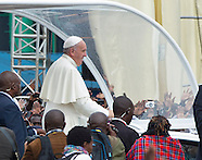 Pope Francis Celebrates Mass In Rainy Kenya