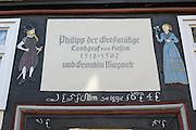 Hainaer Hof, Altstadt, Fachwerk, Bad Wildungen, Nordhessen, Hessen, Deutschland | Haina Hof, old town, Bad Wildungen, Hesse, Germany