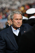 6 Dec 2008: President George W Bush before the Army / Navy game December 6th, 2008. At Lincoln Financial Field in Philadelphia, Pennsylvania.