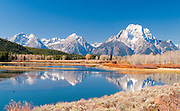 Oxbow Bend and Teton Range