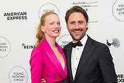 International Young Patrons Gala 2019 van het  Nationale Opera & Ballet in de Stopera, Amsterdam.<br /> <br /> Op de foto: Model Cicely en Diederik Maessen