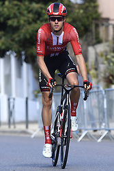 March 15, 2019 - Brignoles, France - BRIGNOLES, FRANCE - MARCH 15 : PEDERSEN Casper Phillip (DEN) of TEAM SUNWEB pictured during stage 6 of the 2019 Paris - Nice cycling race with start in Peynier and finish in Brignoles  (176,5 km) on March 15, 2019 in Brignoles, France. (Credit Image: © Panoramic via ZUMA Press)