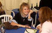 Jessica Naylor-Leyland. Ludlow Charity Race Day,  in aid of Action Medical Research. Ludlow racecourse. 24 march 2005. ONE TIME USE ONLY - DO NOT ARCHIVE  © Copyright Photograph by Dafydd Jones 66 Stockwell Park Rd. London SW9 0DA Tel 020 7733 0108 www.dafjones.com