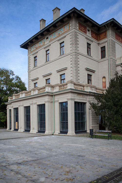 Villa Gröbe (Grebovka) in Prag Vinehrady.