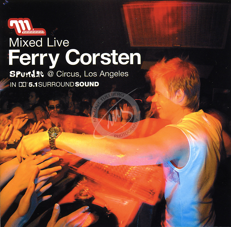 "CD Cover for DJ Ferry Corsten's ""Mixed Live"" album, from Moonshine Music."