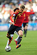 Torres  during the soccer match of the 2009 Confederations Cup between Spain and Iraq played at Vodacom Park,Bloemfontein,South Africa on 17 June 2009.  Photo: Gerhard Steenkamp/Superimage Media.