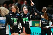 Julie Gantzel Pedersen fra Herning-Ikast før semifinalen i HTH Dameligaen mellem Herning-Ikast Håndbold i IBF Arena, Ikast, Danmark, den 01.05.2019. Photo Credit: Allan Jensen/EVENTMEDIA.
