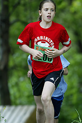 "(Kingston, Ontario---16/05/09) ""Degroot Mehan running in the kids race at the 2009 Salomon 5 Peaks Trail Running series Race held in Kingston, Ontario as part of the Eastern Ontario/Quebec division. ""  Copyright photograph Sean Burges / Mundo Sport Images, 2009. www.mundosportimages.com / www.msievents.com."