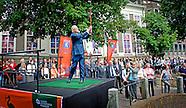 Prof. mr. Pieter van Vollenhoven opent  de tentoonstelling 'Nederland