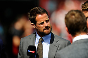 Jamie Redknapp before the Premier League match between Bournemouth and Manchester City at the Vitality Stadium, Bournemouth, England on 26 August 2017. Photo by Graham Hunt.