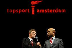 13-12-2010 ALGEMEEN: TOPSPORT GALA AMSTERDAM: AMSTERDAM<br /> In de Westergasfabriek werd het gala van de beste sportman, -vrouw, coach en ploeg gekozen / Humbert Tan en Josy Verdonkschot <br /> ©2010-WWW.FOTOHOOGENDOORN.NL