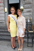 31/07/2014 There was an excellent turnout of fashionable ladies at Hotel Meyrick for their Most Stylish Lady Competition, judged by two of Ireland&rsquo;s leading fashion commentators Sonya Lennon  and Brendan Courtney .  At the event was Cavan Rose, Laura Galligan and  Kildare Rose, Katie o Neil,<br /> Picture:Andrew Downes