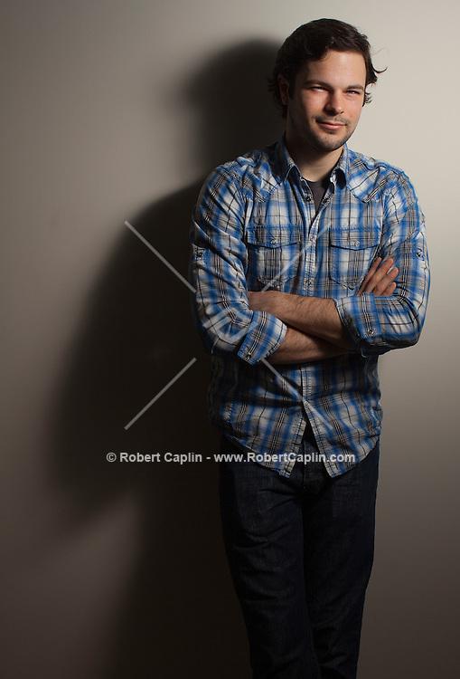 "Feb. 11, 2013, New York, NY - Actor Jonny Orsini  of ""The Nance""...Photo by Robert Caplin.."