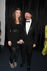 HOLLY EVANS and DAVE EVANS - THE EDGE of U2 at the GQ Men of the Year 2011 Awards dinner held at The Royal Opera House, Covent Garden, London on 6th September 2011.