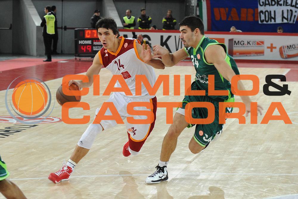 DESCRIZIONE : Roma Eurolega 2010-11 Lottomatica Virtus Roma Unicaja Malaga<br /> GIOCATORE : Nihad Djedovic<br /> SQUADRA : Lottomatica Virtus Roma<br /> EVENTO : Eurolega 2010-2011<br /> GARA : Lottomatica Virtus Roma Unicaja Malaga<br /> DATA : 15/12/2010<br /> CATEGORIA : palleggio penetrazione<br /> SPORT : Pallacanestro <br /> AUTORE : Agenzia Ciamillo-Castoria/GiulioCiamillo<br /> Galleria : Eurolega 2010-2011<br /> Fotonotizia : Roma Eurolega Euroleague 2010-11 Lottomatica Virtus Roma Unicaja Malaga<br /> Predefinita :