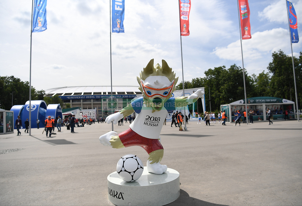 World Cup 2018 - Atmosphere in Moscow, Russia before the opening ceremony of the World Cup 2018 on june 14, 2018. Photo by Christian Liewig/ABACAPRESS.COM