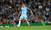 Football - 2016 / 2017 Champions League - Qualifying Play-Off, Second Leg: Manchester City [5] vs. Steaua Bucharest [0]<br /> <br /> Jesus Navas of Manchester City during the match, at the Ethihad Stadium.<br /> <br /> COLORSPORT/LYNNE CAMERON