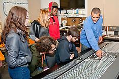 HUNTER-Audio students