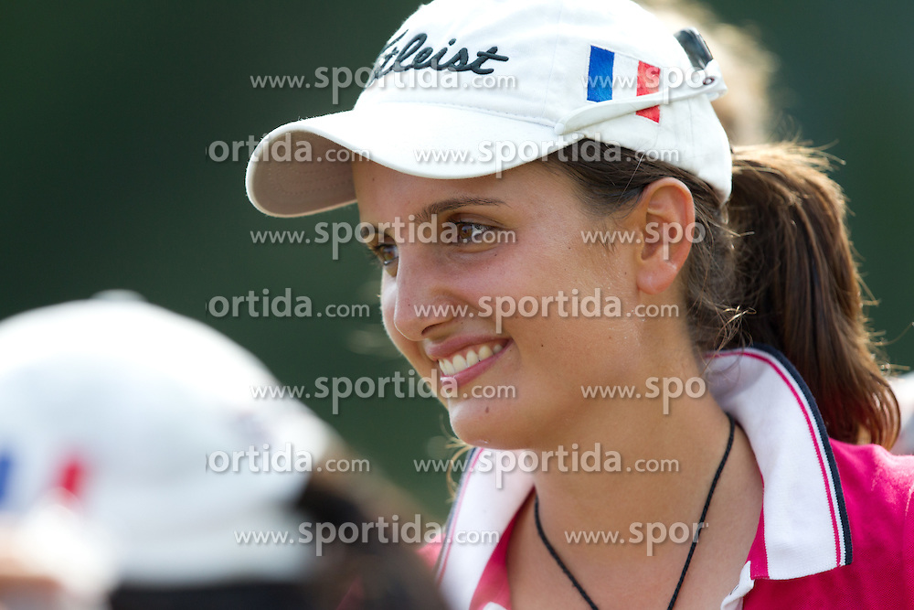 Alexandra Bonetti of France during golf competition in final day of International European Ladies Amateur Championship 2012, on July 28, 2012 in Smlednik at Ljubljana, Slovenia. (Photo by Matic Klansek Velej / Sportida.com)
