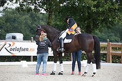 Werner Nicole, (NED), Glock's Undercover<br /> Kingsley Donadeo Prijs grand Prix Kur<br /> Dutch Championship Dressage - Ermelo 2015<br /> © Hippo Foto - Dirk Caremans<br /> 19/07/15