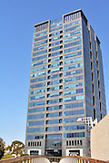 Israel, Tel Aviv, High rise building in the business centre