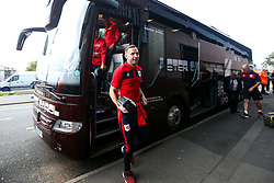 Andreas Weimann of Bristol City arrives at the Hawthorns for the Sky Bet Championship fixture against West Bromwich Albion - Mandatory by-line: Robbie Stephenson/JMP - 18/09/2018 - FOOTBALL - The Hawthorns - West Bromwich, England - West Bromwich Albion v Bristol City - Sky Bet Championship
