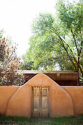 doorway of a house in New Mexico