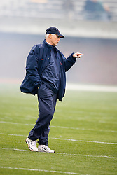 Virginia Cavaliers head coach Al Groh during the spring game.  The University of Virginia Football Team played their Spring game at Scott Stadium in Charlottesville, VA on April 14, 2007.