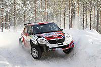 MOTORSPORT - WORLD RALLY CHAMPIONSHIP 2011 - RALLY SWEDEN / RALLYE DE SUEDE - 10 TO 13/02/2011 - KARLSTAD (SWE) - PHOTO : FRANCOIS BAUDIN /  DPPI - <br /> 20 EYVIND BRYNHILDSEN / CATO MENKERUD - SKODA FABIA S2000 - ACTION
