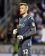 Anssi Jaakkola (32) of Bristol Rovers during the EFL Cup match between Bristol Rovers and Brighton and Hove Albion at the Memorial Stadium, Bristol, England on 27 August 2019.