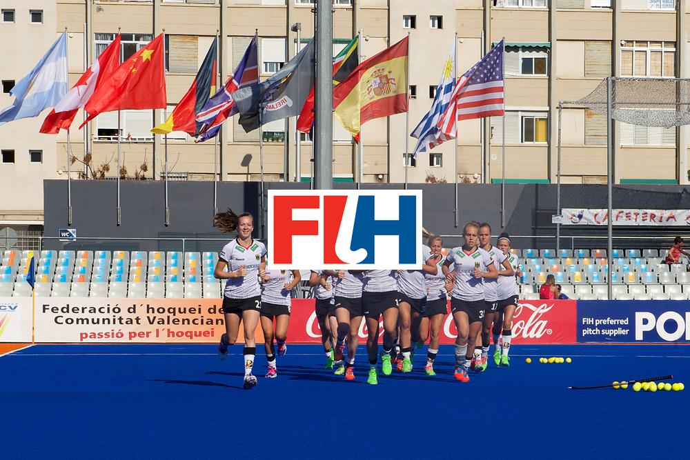 RIO 2016 Olympic qualification, Hockey, Women, quarterfinal, Germany vs Spain QF2 : team Germany training before the match