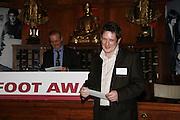 LIAM MCDOUGAL. Paul Foot Award for Journalism, Courthouse Hotel, 19 Great Marlborough Street, London. 16 October 2006. -DO NOT ARCHIVE-© Copyright Photograph by Dafydd Jones 66 Stockwell Park Rd. London SW9 0DA Tel 020 7733 0108 www.dafjones.com